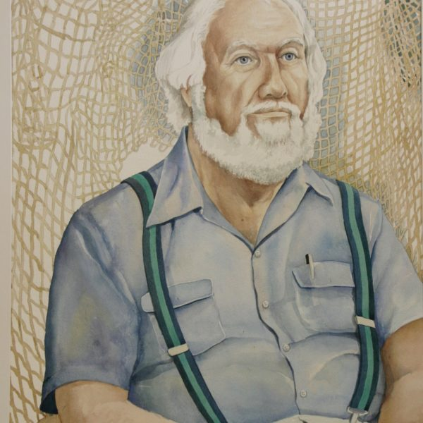 Watercolor – Old Man & the Sea