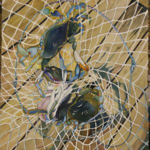 Crab-Net Watercolor