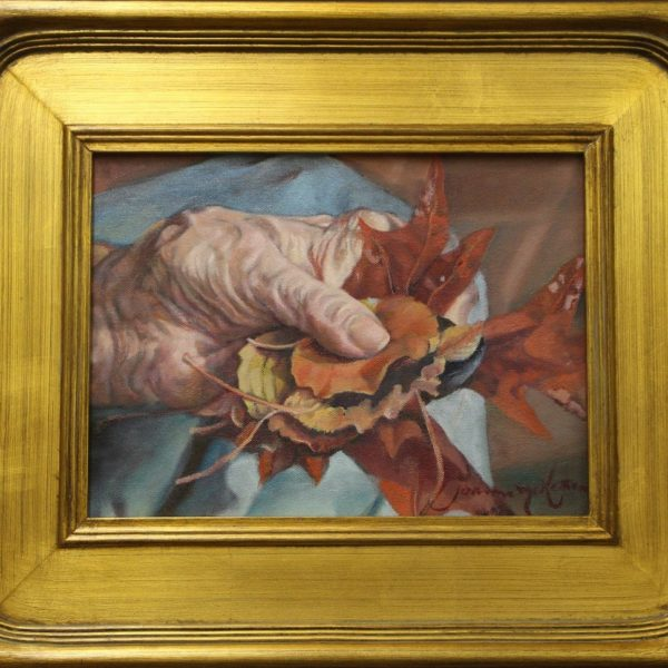 Lib's Hands - Oil