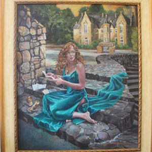 Kenna at Castle - Oil
